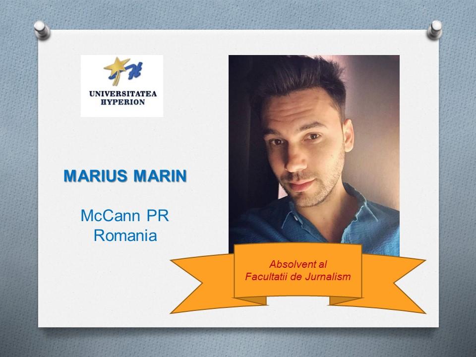 MARIUS MARIN